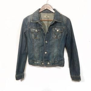Juicy Couture Medium Jacket w/ Bleach Back Design